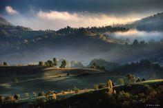 Autumn morning by Kalmar Zoltan on Visit Romania, Autumn Morning, Manila, Destiny, Opera, Explore, Water, Painting, Outdoor
