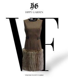 Vrlo nosiva elegantna Hippy Garden haljina s ornamentima našivenim u struku sa naglašenim donjim dijelom gusto češljanih vlakana.  Dostupna je na Web Shopu: http://hippygarden.net/products-page/dresses/haljina-stof/  #fashion #design #masarykova5 #hippygarden #dress #fluffy #fabric