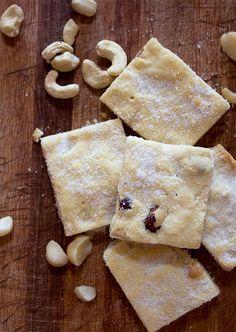 MIXED NUT CINNAMON SUGAR SHORTBREAD [aninas-recipes]