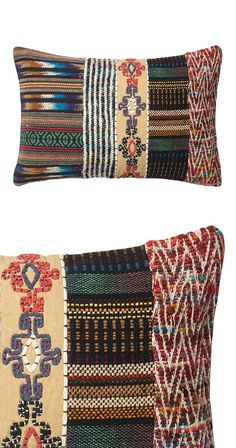 There's a reason why India is world-famous for its dynamic array of textiles, and one of those reasons sits right before our eyes. So many intriguing colors and patterns converge in this Bhamir Throw P...  Find the Bhamir Throw Pillow, as seen in the Farmshop Market & Restaurant Collection at http://dotandbo.com/collections/farmshop-market-restaurant?utm_source=pinterest&utm_medium=organic&db_sku=115309