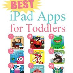 Best Apps for Toddlers {Kids and Technology}