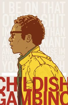 My anti-hero, Donald Glover. Music Is Life, Live Music, Good Music, Dorm Posters, Music Posters, Hoodie Allen, Donald Glover, Childish Gambino, Chance The Rapper