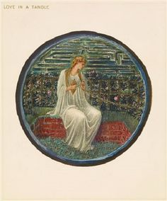 Edward Burne-Jones - Love in a Tangle, 1882-1898
