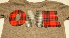 Red and Black Plaid and Houndstooth Shirt Birthday Tee Organic Shirt Blend Grey lumberjack plaid