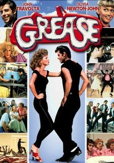 Grease *Musical/Romance by Randal Kleiser -- starring John Travolta & Olivia Newton-John Old Movies, Great Movies, Awesome Movies, See Movie, Movie Tv, Movie List, Movie Photo, Dance Movies, The Blues Brothers