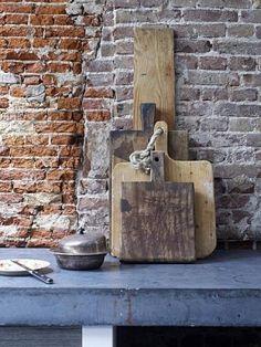 beton hout keuken