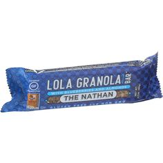 Lola Granola Bar - The Nathan - With Blueberries And Almonds - 2.1 Oz Bars - Case Of 12