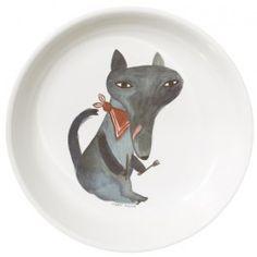 Donna Wilson melamine bord hungry wolf