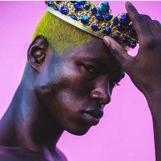 Black Pics, Black Art, Dark Man, Ronald Epps, Portrait Photography, Fashion Photography, Makeup Photography, Black Royalty, Dolly Fashion