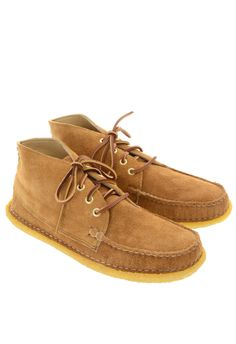 NEW ENGLAND CO. Quarter Boot Crepe - Toast Suede