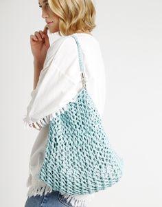Milo Beach Bag Knitting Kit | @woolandthegang