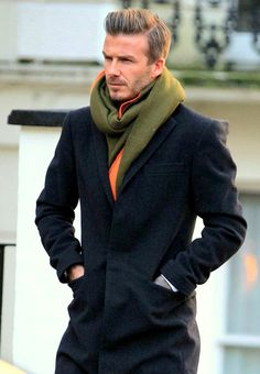 Bright / neutral / dark -- Give me Beckham's scarf!