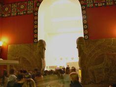 In the Pergamon museum - aren't they impressive?