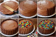 Would You Try this Kit Kat Birthday Cake Decoration?