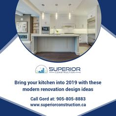 Your kitchen is centerpiece of your home. Get latest Kitchen design ideas from Superior construction and renovate. Latest Kitchen Designs, North York, Centerpiece, Design Ideas, Construction, Interior Design, Modern, Home Decor, Building