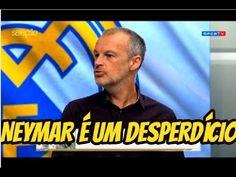 Neymar tem que participa menos do jogo e aproveita mais como Messi é o t...