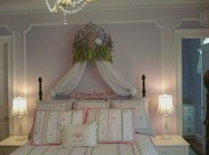 Our Princess Room - eclectic - kids - baltimore - by JB Interiors, Inc.