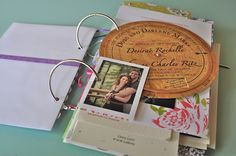 Keeping your special cards in books - DIY