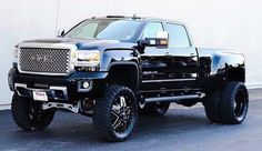 Lifted GMC Dually