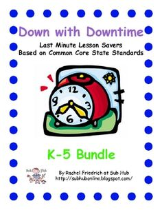 Down with Downtime: Bundle with FREE Science/Social Studies Substitute Binder, Substitute Teacher, Teaching Supplies, Teaching Tips, Classroom Activities, Classroom Ideas, Supply List, Science Ideas, Classroom Management