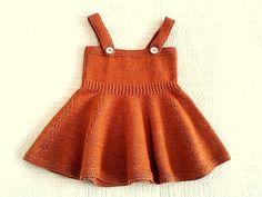 Hand gestrickte Rock mit Riemen, die orange Kinder-Mädchen Kleidung Kleinkind…