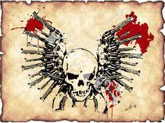 Guns & Skull