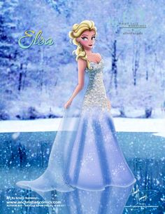 (251) Elsa [2015] (Fairy Tale Wedding by AN-ChristianComics @deviantART) #Frozen
