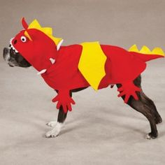 Zack & Zoey Dragon Pet Costume - Red from PetEdge Dealer Services - Available at BuyDogSweaters.com