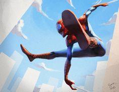 latanieredecyberwolf:    Spider-Man  by Superpascoal