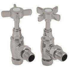 Towel rail manual inlet valve in chrome Traditional Radiators, Cast Iron Bath, Copper Bath, Radiator Valves, Roll Top Bath, Cast Iron Radiators, Towel Rail, Chrome Finish, Soap Dispenser