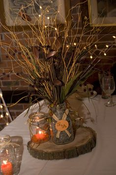 Rustic Fall Wedding On A Budget