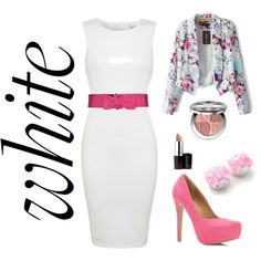 """""""It's all about White"""" by clauzzenlms on Polyvore"""