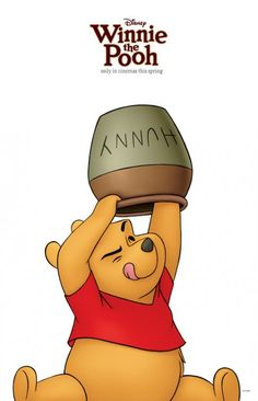 Day 15 First Movie You Saw: I'm not quite sure, so I'm going with Winnie the Pooh. He's so cute. :)  30 Day Disney Challenge