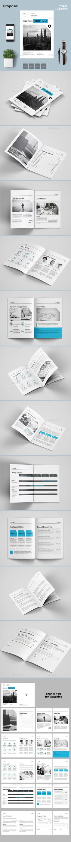 Buy Proposal by azadcsstune on GraphicRiver. Indesign DOC Proposal, Template 22 pages, hi-quality design, professional and modern Magazine Layout template saves . Invoice Design Template, Stationery Templates, Layout Template, Stationery Design, Print Templates, Brochure Template, Proposal Photography, Proposal Templates