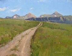 Jeep Trail by Marc Hanson Oil ~ 11 x 14