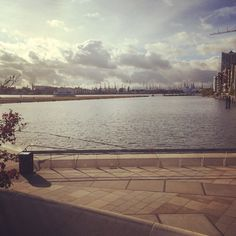 #Hamburg #Hafen City #Marco-Polo-Terrassen #Elbe