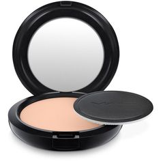 Mac Last Long Pro Longwear Pressed Powder ($27) ❤ liked on Polyvore featuring beauty products, makeup, face makeup, face powder, medium, mac cosmetics and compact face powder