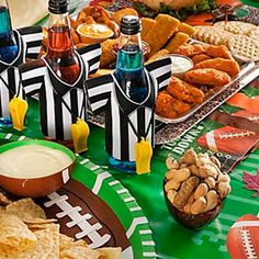 football party ideas - #MealsTogether