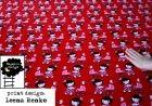Velour: Tytöt punainen-v.punainen-ruskea ihania kankaita majapuu