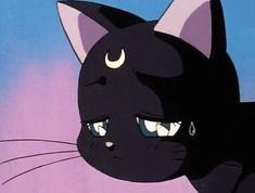 cat, sailor moon, and anime imageの画像 Sailor Moon Aesthetic, Aesthetic Art, Aesthetic Anime, Anime Gifs, Art Anime, Thicc Anime, Kawaii Anime, Cartoon Profile Pictures, Cartoon Pics