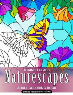 Beautiful Butterflies Stained Glass Coloring Book Dover Nature By A G Smith Amazon Dp 0486430618 Ref