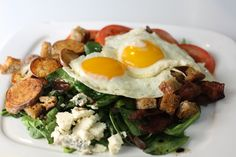 Breakfast Salad, perfect for weekend