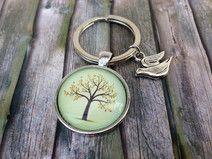 Anhänger  Baum 4  für Schlüssel oder Tasche