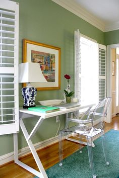 How To Incorporate Modern | Kartell Ghost Chair