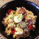 Slow Cooker Chorizo and Prawn Jambalaya Recipe