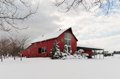 Barn Red Exterior | Astounding Red Barn decorating ideas for Decorative Exterior Farmhouse ...