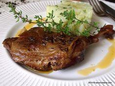Pulpe de rata la slow cooker Gnocchi, Carne, Crockpot, Slow Cooker, Steak, Food And Drink, Pork, Urban, Chicken