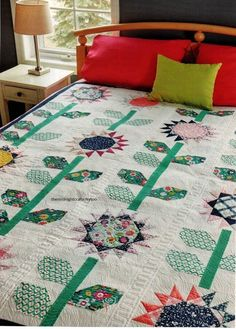 Oh Happy Day Quilt Pattern Pieced DP