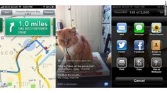 The new Maps app, Photo Stream tool and sharing options in iOS 6.