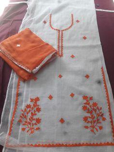 Hand Embroidery Dress, Kurti Embroidery Design, Cutwork Embroidery, Simple Embroidery, Designer Punjabi Suits Patiala, Women Salwar Suit, Pakistani Dress Design, Salwar Suits, Punjabi Suit Boutique